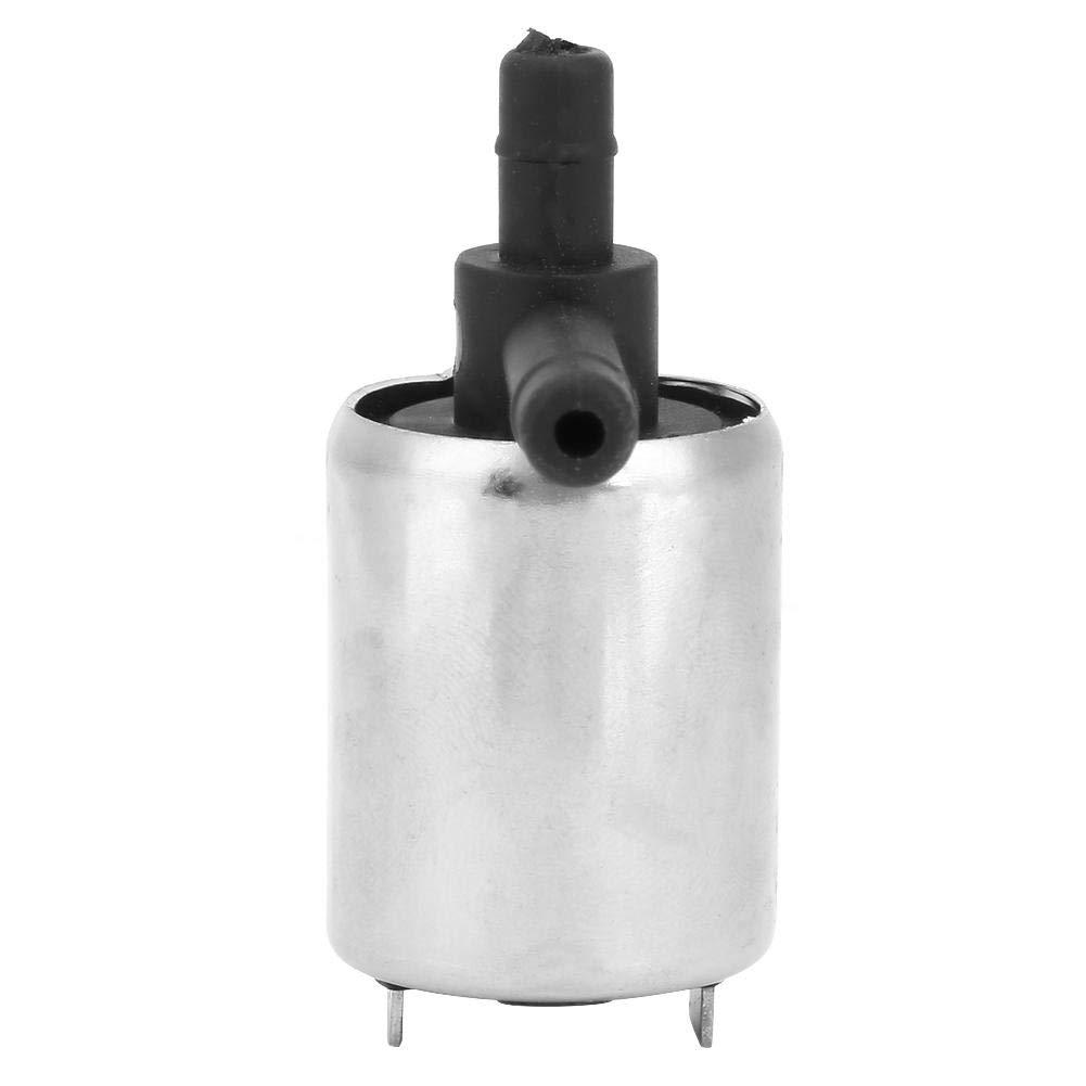 0-0.4MPA 250mA Elettrovalvola DC12V 6mm Mini solenoide in plastica per gas Acqua Aria N//C Normalmente chiuso