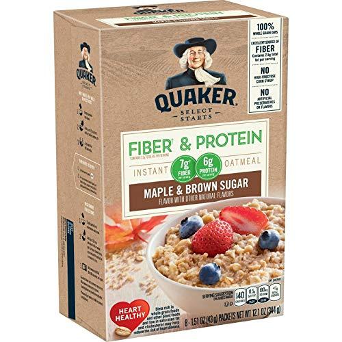 Quaker Instant Oatmeal FiberProtein