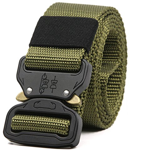 Mensbeltee Heavy Duty Rigger's Belt Concealed Carry Polic EDC Survival Hunting (1.5