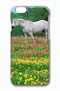 Brian114 6 Case, iPhone 6 Case - 3D Fashion Print Drop Protection Case for iPhone 6 Unicorn Or Horse 1 Scratch Resistant Case for iPhone 6 4.7 Inches