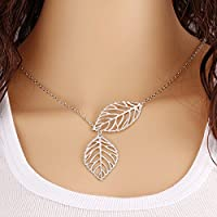 SysPod(TM) New Fashion Vintage Big Leaf Pendant Necklace Clavicle Chain Women Nice Jewelry On Sale