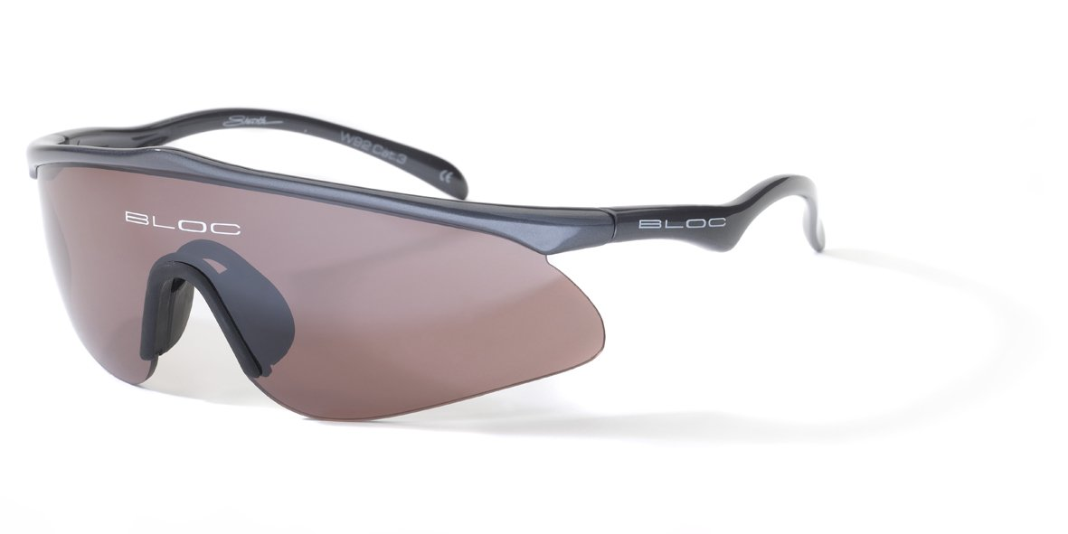 0960dbb98fba Bloc Eyewear Stealth Sunglasses - Anthracite: Amazon.co.uk: Sports &  Outdoors