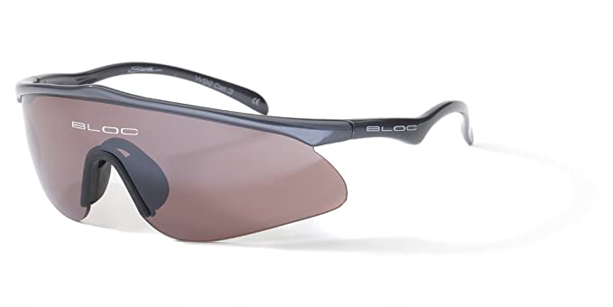 f1bdb29aca5 Bloc Eyewear Stealth Sunglasses - Anthracite  Amazon.co.uk  Sports    Outdoors