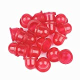 20 Pack of Savior Red Carburetor Primer Bulb Bulbs Pumb for Walbro 188-16 188-16-1 Homelite Mcculloch Weed Eater Poulan Craftsman 530035497 530-035497