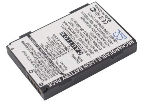 VINTRONS Rechargeable Battery 1250mAh For Yakumo DeltaX 5 BT, PDA Delta X GPS