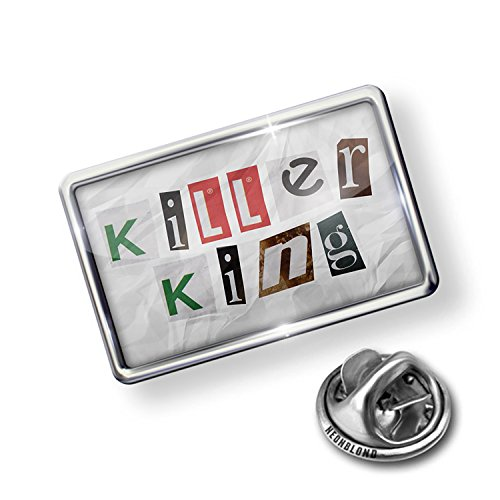 Pin Killer King Ransom Blackmail Letter - NEONBLOND