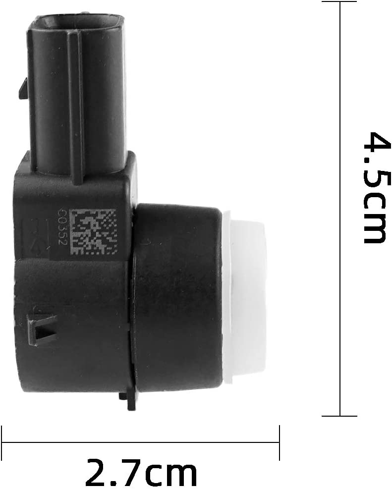 Vod/_AutoParts 4 PCS Parking Assist Object Sensor 25961316 Replacement for Cadillac Escalade 2006-2014 for GMC Savana 1500 2500 2014 for Buick Lucerne 2006-2007 25961317
