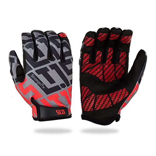 StrongerRx Forever Gloves LT.15 Get Forever Replacements For Life - Never Buy Gloves Again! Lightweight, Super Flexible Fabric and Designed For Extreme Fitness. WODs, Ropes, Crossfit, & More!
