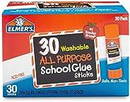 Elmer's All Purpose School Glue Sticks, Washable, 7 Gram, 30 C