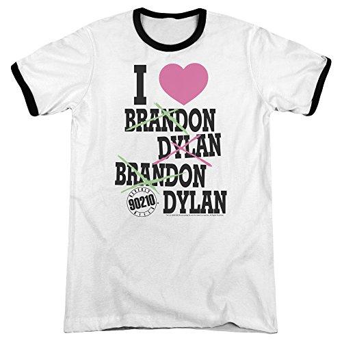 90210 - I Heart 90210 Adult Ringer T-Shirt