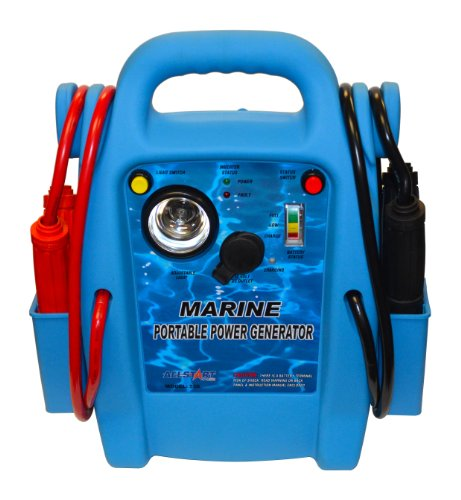 Allstart 556 Marine Battery Jump Starter with AC Inverter