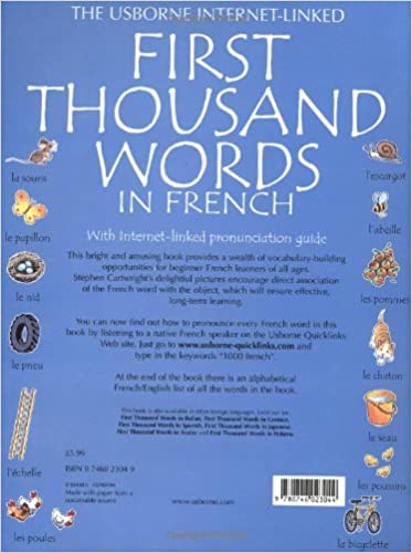 First Thousand Words in French (Usborne First Thousand Words ...