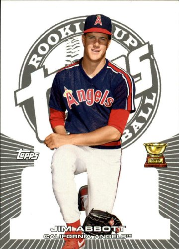 2005 Topps Rookie Cup Baseball Rookie Card #72 Jim Abbott Near Mint/Mint