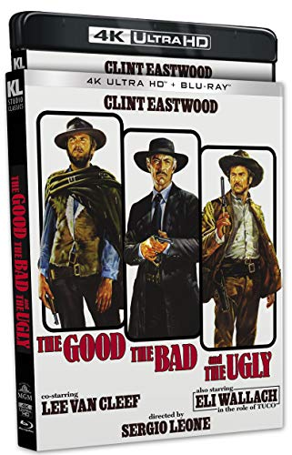 The Good, the Bad and the Ugly [4KUHD] [Blu-ray]