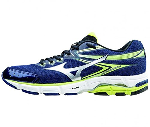 Zapatillas Wave Connect 2 Hombre Azul/lime 48 2/3 (UK 13)