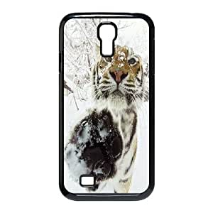 High quality Cute animal tiger protective case cover For SamSung Galaxy S4 Case i-uit-S2822