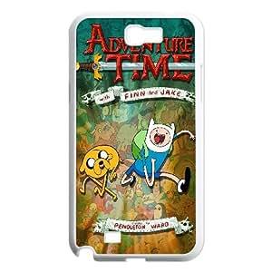 Samsung Galaxy N2 7100 Cell Phone Case White_Adventure Time Kktsm