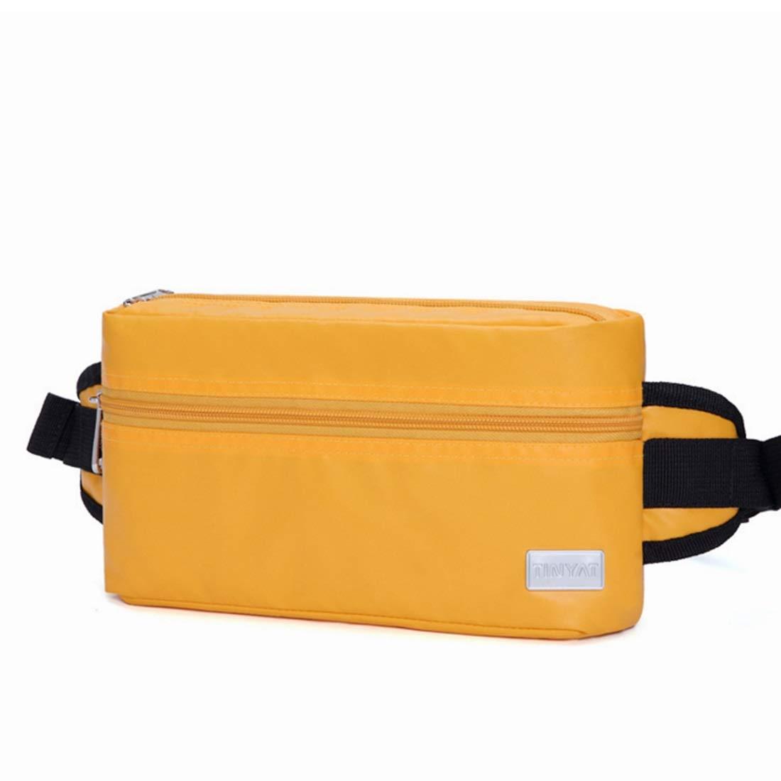 RABILTY Chest Bag Travel Hiking Outdoor Sport Waist Bag Money Hip Pouch Bag Color : Blue