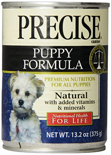 Precise 726072 12-Pack Puppy Can Food for Pets, 13.2-Ounce