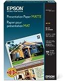 Epson Presentation Paper MATTE (13x19 Inches, 100 Sheets) (S041069)