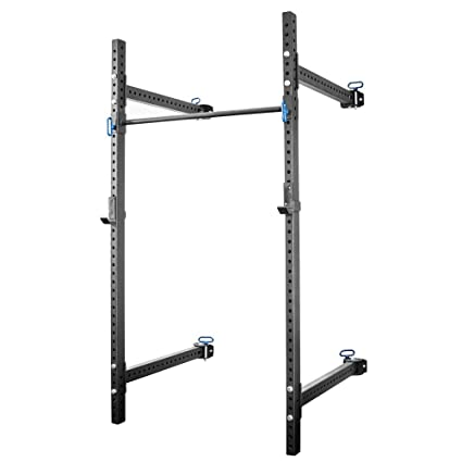 Rogue rml w fold back wall mount rack with custom mirror and