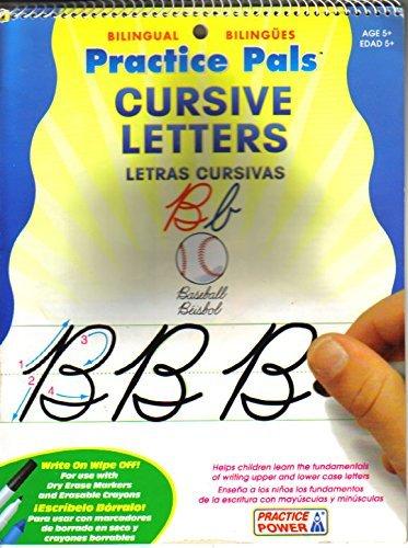 Practice Pals Cursive Letters / Letras Cursivas: Bilingual / Biling?es by N/A - Greenbrier Mall