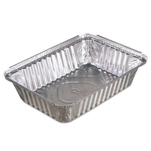 PACY78830 - Oblong Aluminum Food Pans, 36oz, 8 7/16w X 5 15/16d X 1 13/16h