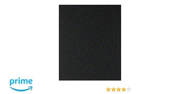 Pliego de lija manual Bosch 2609256C06 impermeable, P600, 23 x 28 cm