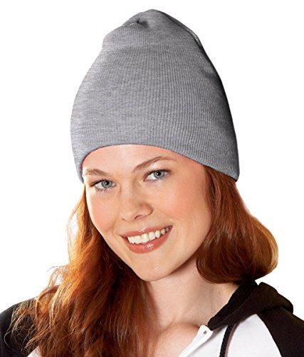 Yupoong v-flexfit Heavyweight Knit Cap gris