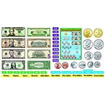 Trend Enterprises U.S. Money Bulletin Board Set (T-8142)