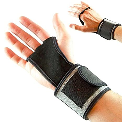 NO Calluses Muscle Ups Deadlifts WOD Workout Kettlebell Weightlifting /& Calisthenics Men /& Women Pull Ups Gloves Great for Cross Training Mava Sports Leather Hand Grips with Wrist Support
