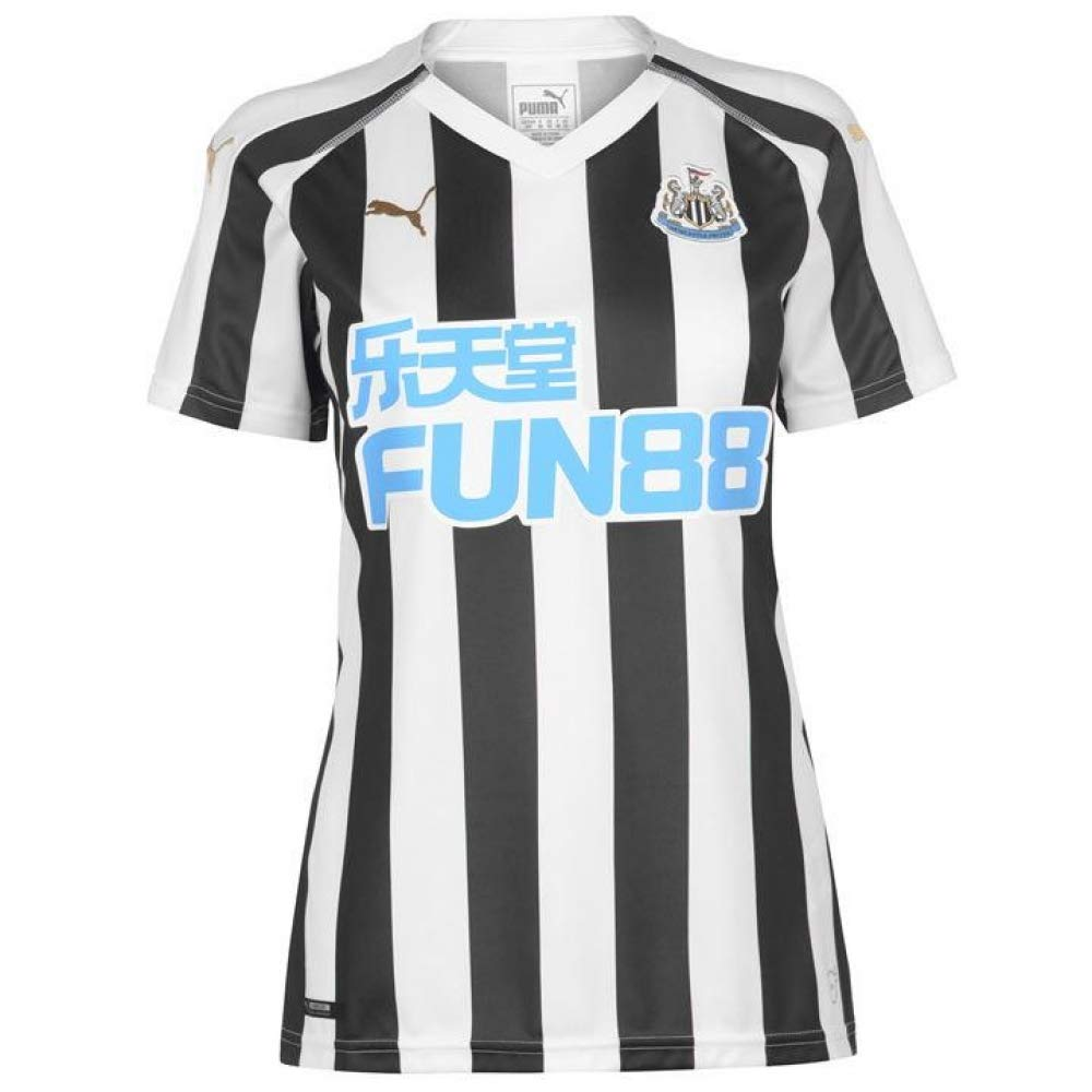 Puma 2018-2019 Newcastle Home Ladies Football Soccer T-Shirt Trikot