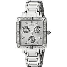 Invicta Women's 5377 Square Angel Diamond Stainless Steel Chronograph Watch