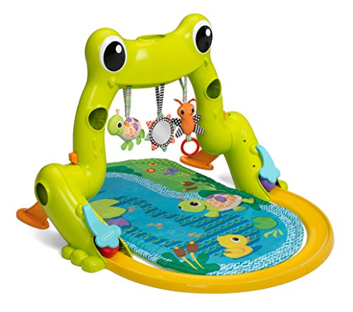 Infantino Playmat - Infantino Great Leaps Gym and Ball Roller Coaster, Green