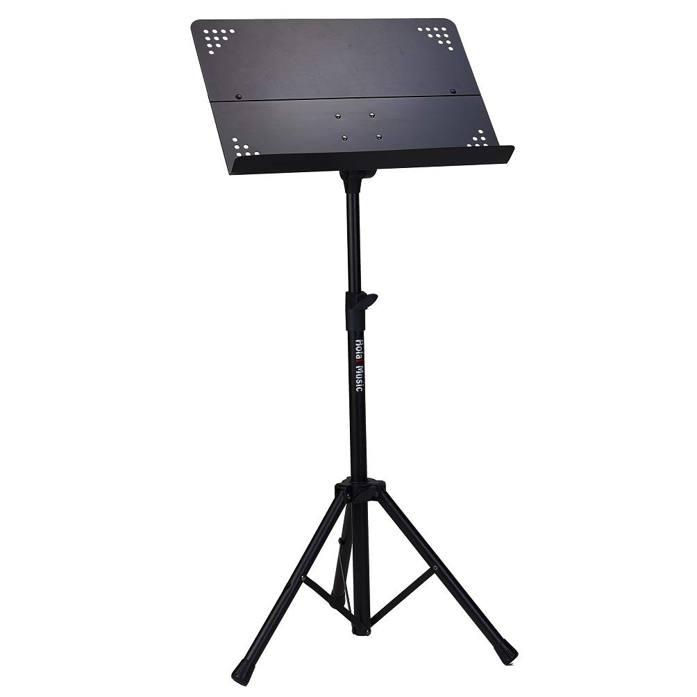 Hola! HM-MS+ Professional Folding Orchestra Sheet Music Stand by Hola! Music