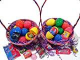 2500 Lot Bullk Pre-Filled Easter Eggs, Solid, Mixed Brand Candy Chocolate & Toys