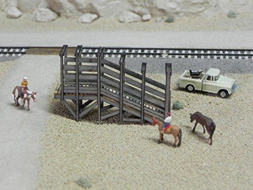 Stock Loading Ramp - Train Time Laser O Scale **LASER CUT ** Custom ** Stock Loading Ramp Kit