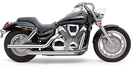 04-09 HONDA VTX1300C: Cobra Dragsters Exhaust ()