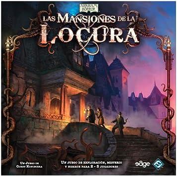 Edge Entertainment - Las Mansiones De La Locura, Juego de Mesa (MAD01): Amazon.es: Juguetes y juegos