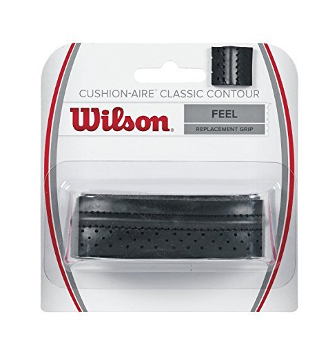 2 Pack - Wilson Cusion-Aire Classic Contour Replacement Grip (Black)