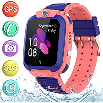 Amazon.com: Kids Smartwatch GPS Tracker Phone - 2019 New ...