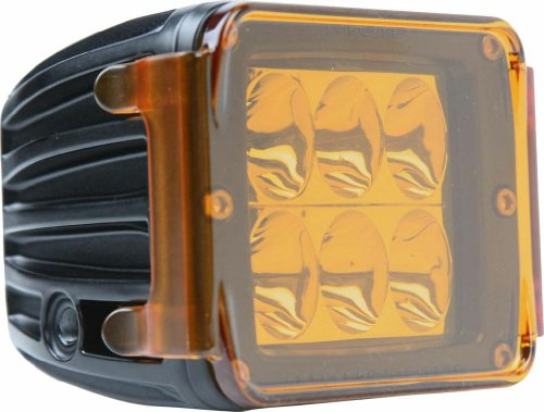 Rigid Industries 20193 Dually/D2 Amber Protective Polycarbonate Cover