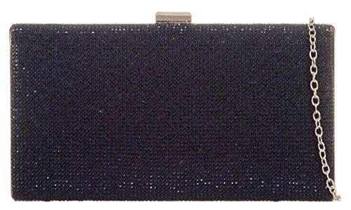 Mano Mujer De Cartera Girly Handbags Marino Azul 1wxqHt4