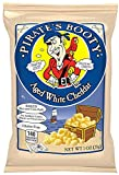 Booty Snack Puffs, Aged White Cheddar, 1 oz. (Pack of 12) Limited Edition