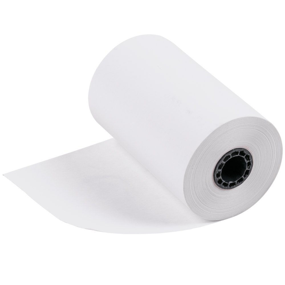 BAM POS Credit Card Receipt Paper for the VX520 (12 Rolls)