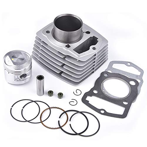 Cylinder Top End Rebuild Kit for CB125 CL125 XL125 SL125 4 Stroke OHC Engine Based Single Cylinder Motorcycle