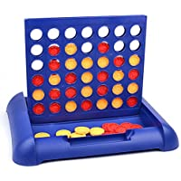 Karp Plastic Kids Connect 4 Game in a Row Standard (Blue, Kids Connect 4 Educational Board Game)