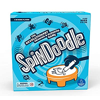 Educational Insights Spindoodle, A Drawing & Guessing Game, Perfect for Family Game Night, Ages 8+: Toys & Games