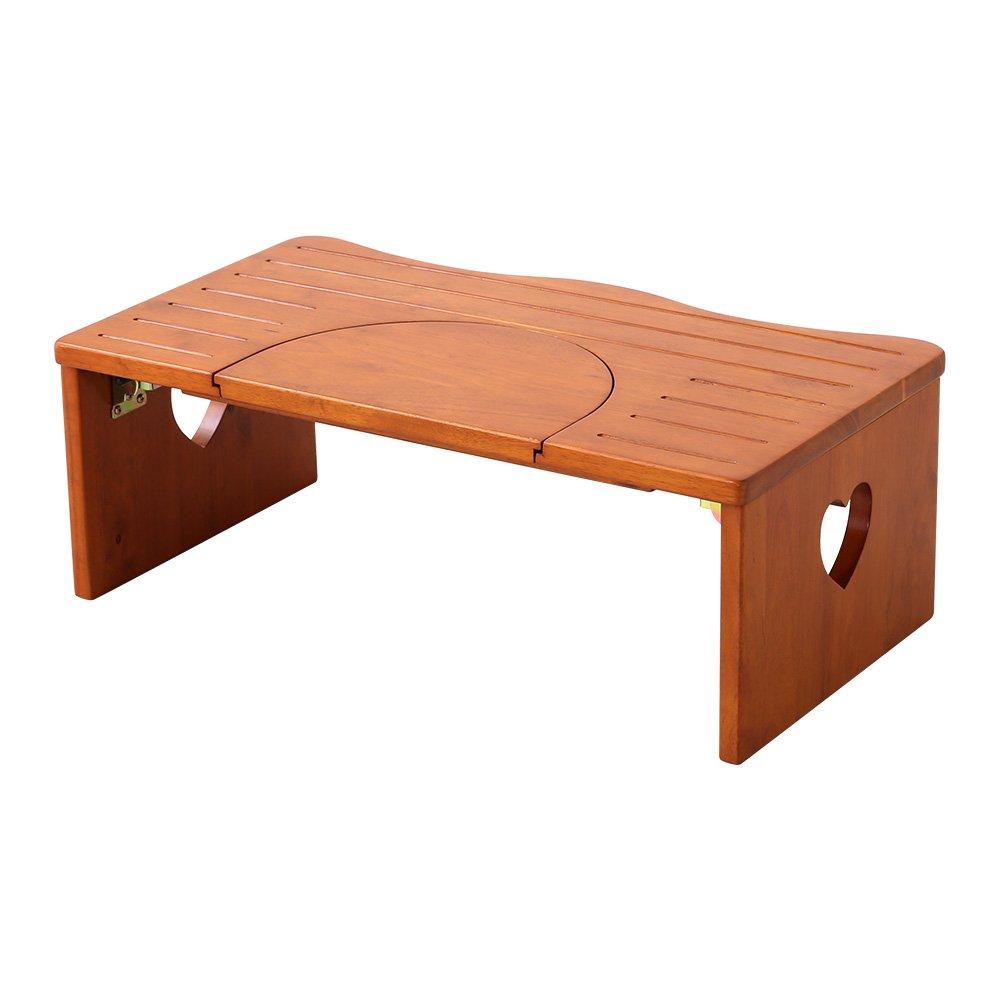 ナチュラルなトイレ子ども踏み台(29cm、木製)角を丸くしているのでお子様やキッズも安心して使えます salita-サリタ- ブラウン B06Y65HH8Y ブラウン ブラウン