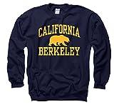 California-Berkeley Golden Bears Adult Arch and Logo Crewneck Sweatshirt - Navy ,